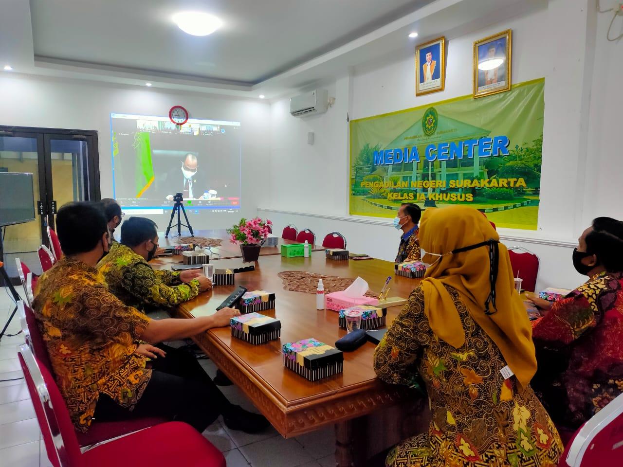Kemeriahan dan Kemanfaatan Peringatan HUT IKAHI Ke-68  di Pengadilan Negeri Surakarta