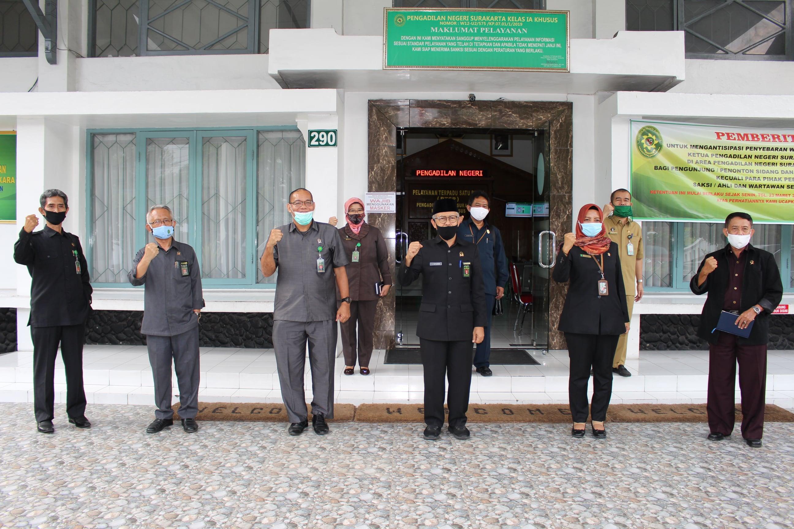 Kunjungan Kerja dan Inspeksi Mendadak dari Ketua Pengadilan Tinggi Jawa Tengah
