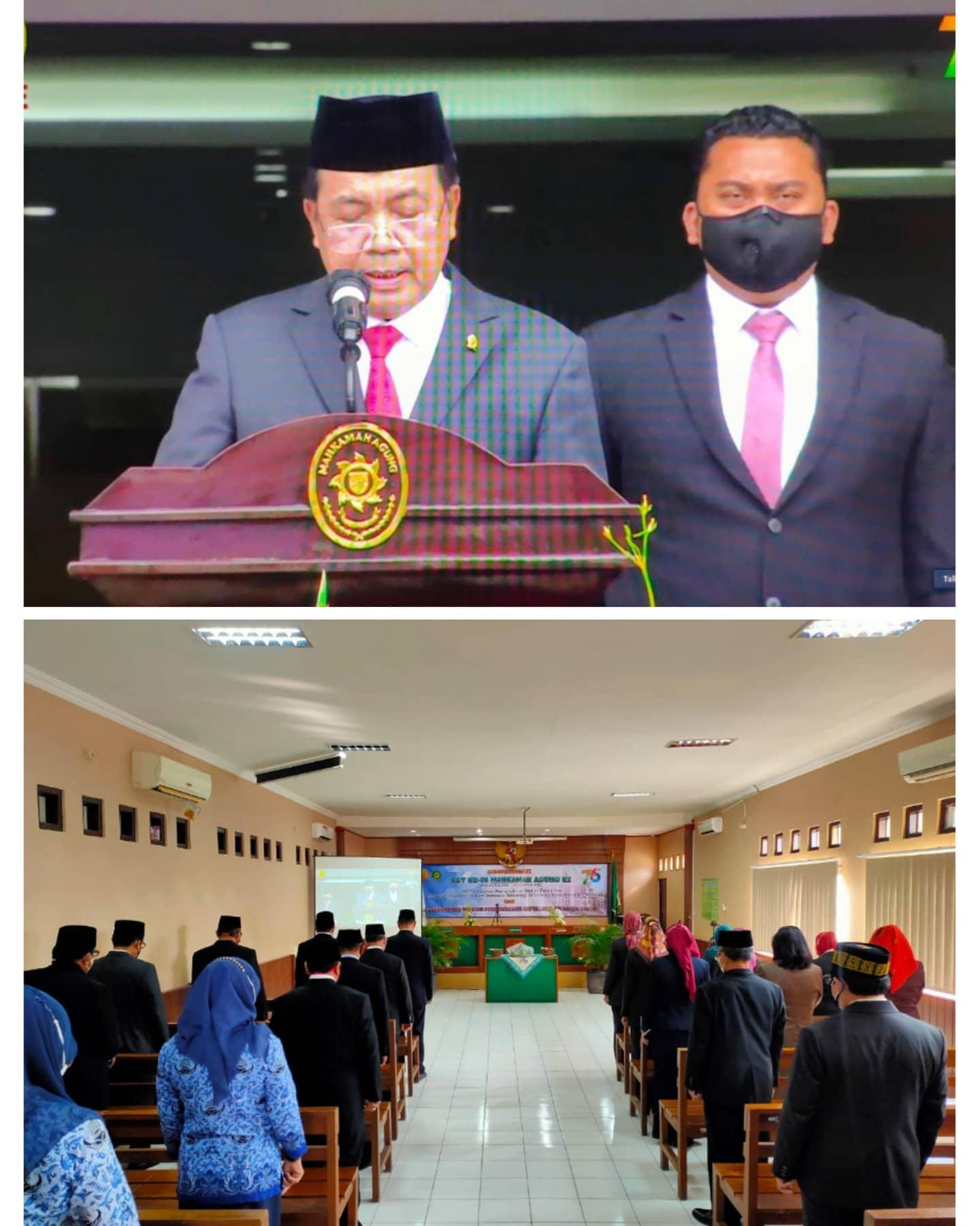 Rangkaian Acara Hari Ulang Tahun Mahkamah Agung Republik Indonesia yang Ke-76 Tahun