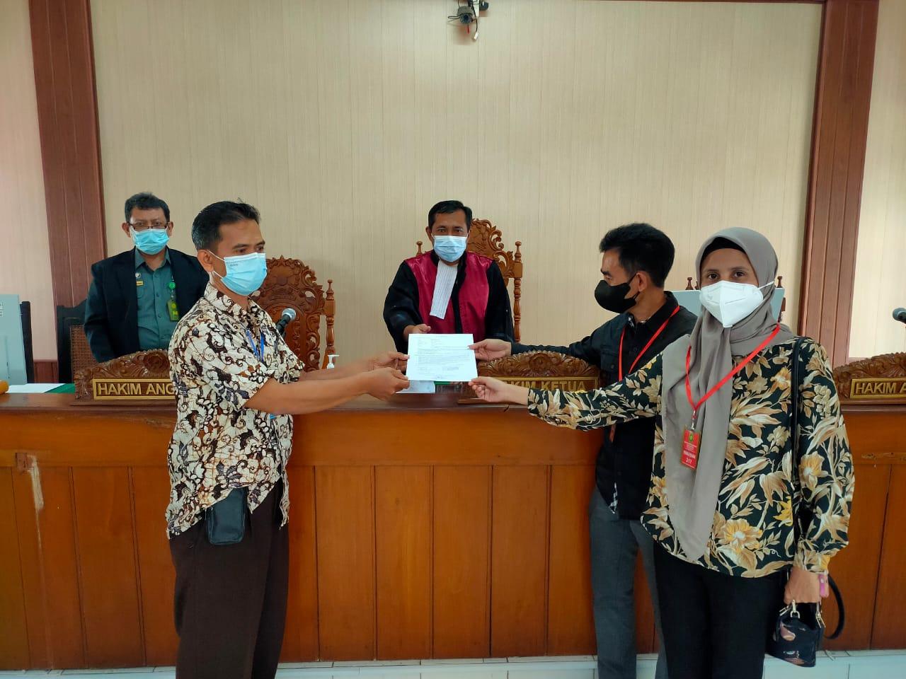 Hakim Mediator Pengadilan Negeri Surakarta Kelas IA Khusus Kembali  Berhasil Mendamaikan Pihak Bersengketa